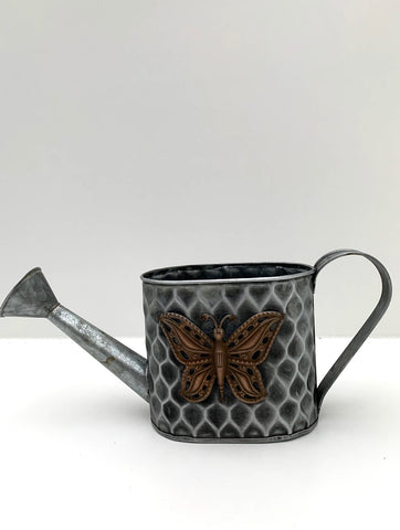 "Tin ""Watering Can"" Pot (4417315766355)"