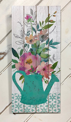 Floral Watering Can Print (4417110540371)