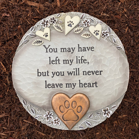 Pet Memorial Garden Stone / Plaque