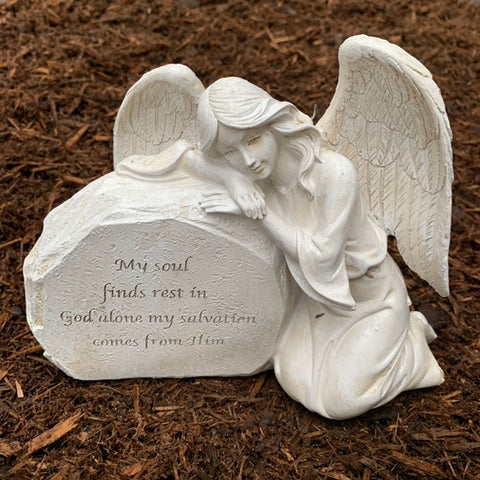 Small Angel Memorial  Statuary