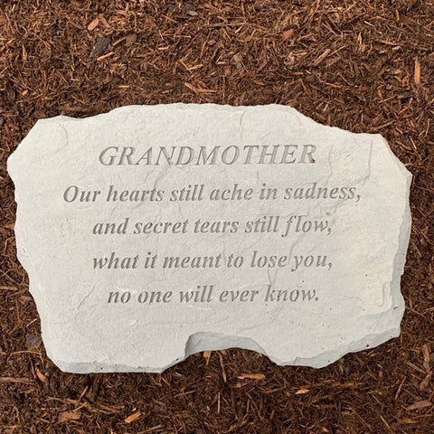 Grandmother Memorial Garden Stone