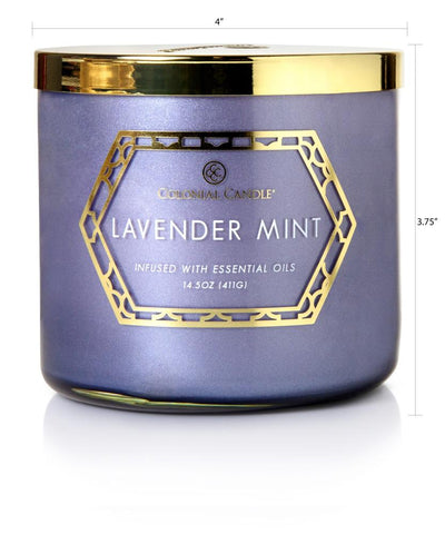 Lavender Mint by Colonial Candle, 14.5 oz (4422763511891)