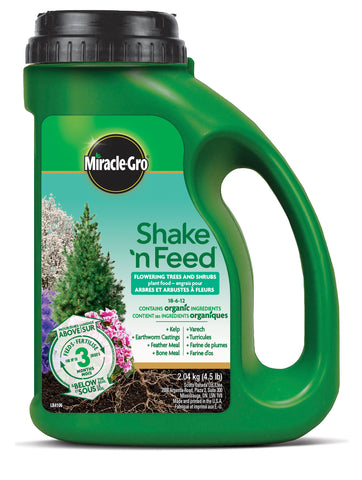 Miracle Grow Shake and Feed Flowering Trees & Shrubs Plant Food 18-6-12 (4423419658323)