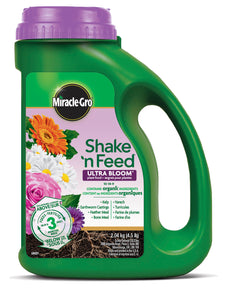 Miracle Grow Shake and Feed Ultra Bloom Plant Food 10-18-9 (4423413203027)