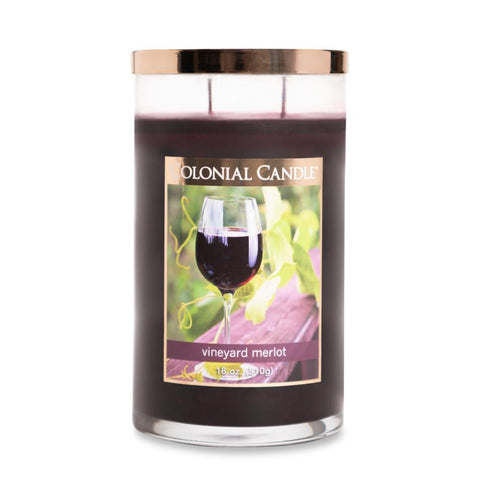 Vineyard Merlot by Colonial Candle, 18oz (4422766231635)