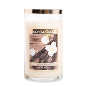 Simply Vanilla by Colonial Candle, 18oz (4422768853075)