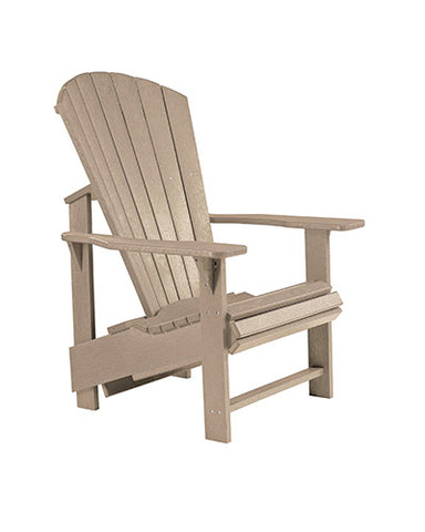Upright Adirondack Chair, Multiple Colours Options
