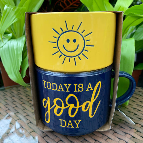 Today Is A Good Day Mug & Bowl Set (4416793182291)