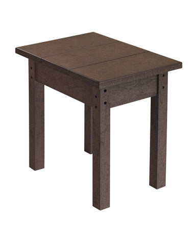 Small Rectangular End Table, Multiple Colours Options