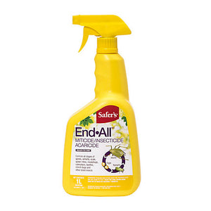 Safer's End All Miticide/Insecticide - 1L (4423422312531)