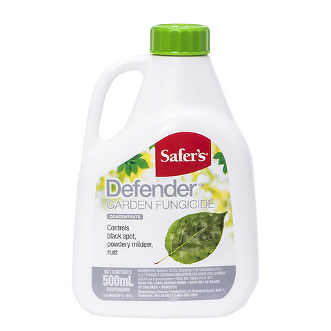 Safer's Defender Garden Fungicide Concentrate - 500mL (4423426277459)