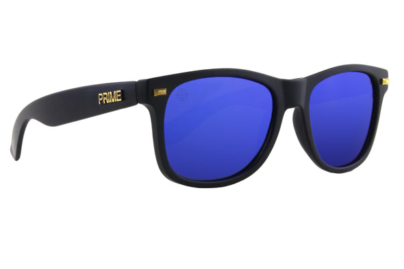 Black / Blue Blaze Polarized