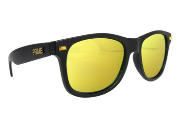 Black / Gold Blaze Polarized