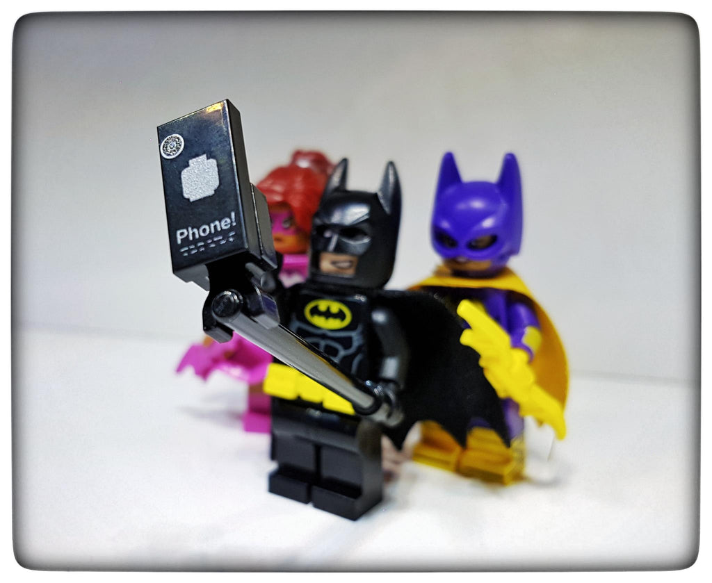 Custom Bat Phone 1x2 tile