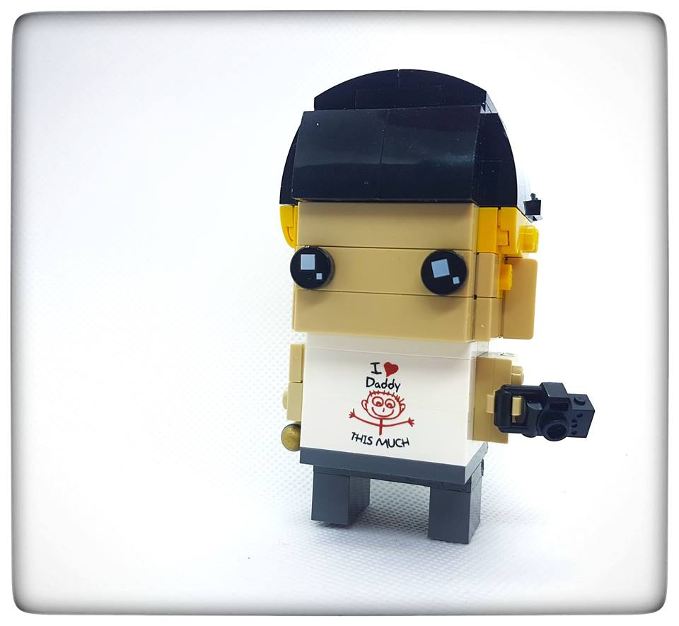 Fathers Day Brickheadz Torso Bricks