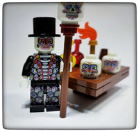 Custom designed Day of the Dead figure