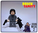 Custom designed John Wick figure