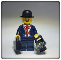 Custom Designed Lester Minifigure