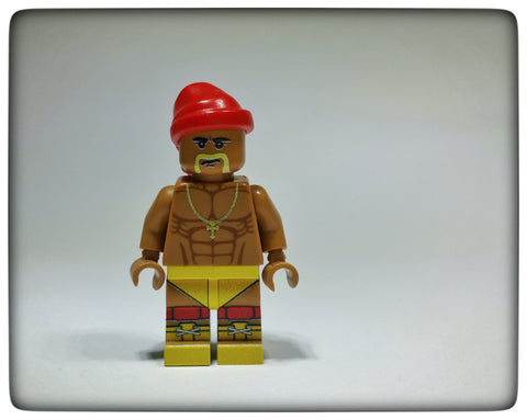 Custom designed Hulk Hogan