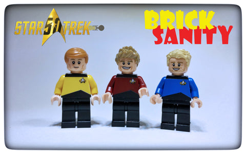 Custom Space Torsos (Star Trek inspired)