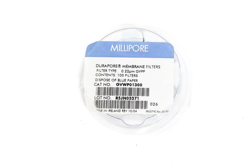 Millipore GVWP01300 Durapore Membrane Filters 13mm 600 Filters (5269)