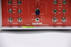 Aalborg Proc-4 4-Channel Command Module for Mass Flow Controller (2231A)
