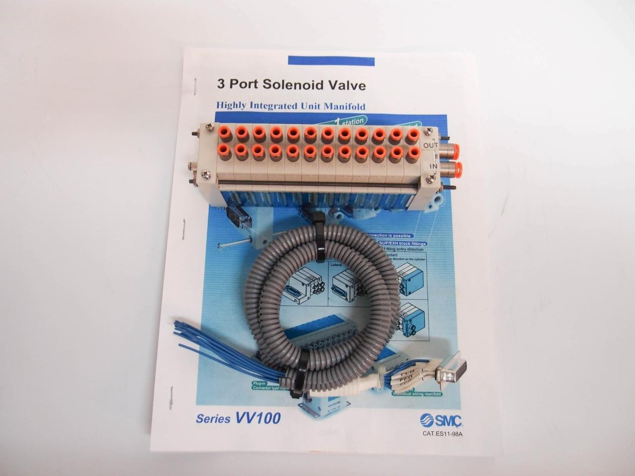 Smc Water Solenoid Valve Diagram Trusted Wiring Diagrams Manifold Vv100 3 Port Highly Integrated Unit 12 5 Do