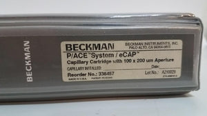 Beckman P/ACE System eCap Capillary Cartridge with 100 X 200 UM Aperture (6311)