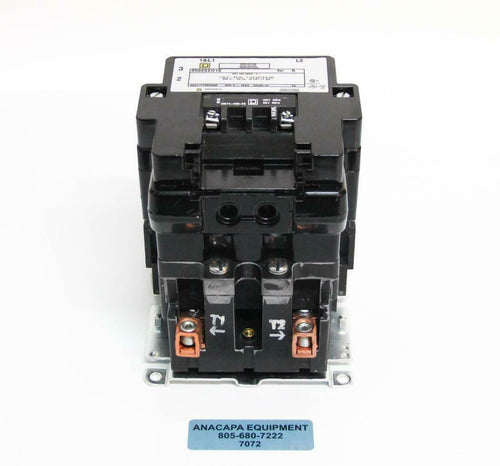 Square D 8502SEO1S Contactor 115 V 60 Hz 7 1/2 HP 11 kW USED (7073) R