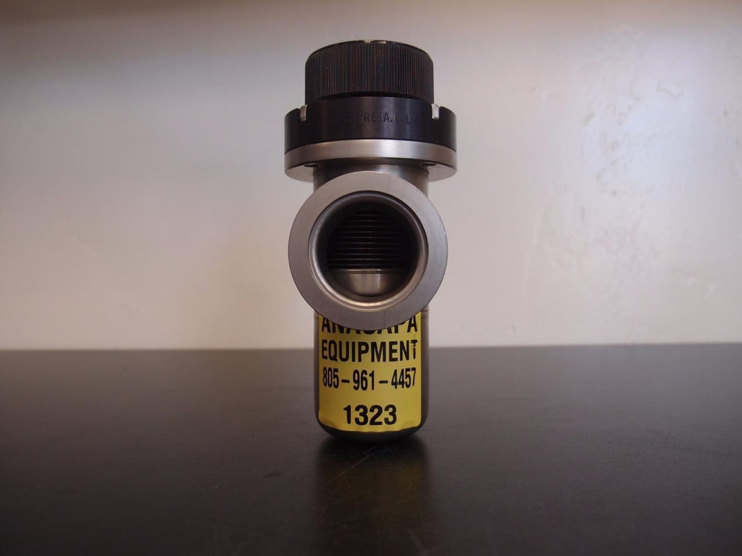 Nor-Cal ILVP 1502 NWB Pneumatic In-Line Poppet Valve NW-40 Flanges (1323)