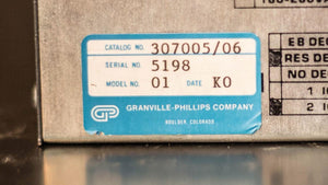 Granville Phillips 307001 Vacuum Gauge Controller & Power Supply 307005/06 (1311