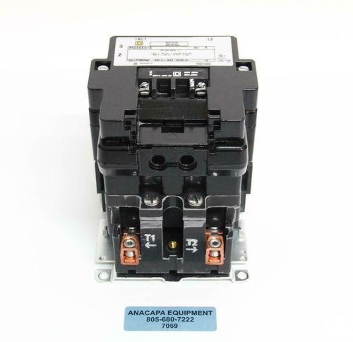 Square D 8502SE01S Contactor 115 V 60 Hz 7 1/2 HP 11 kW USED (7069) R