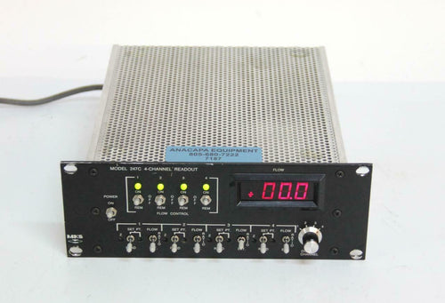 MKS 247C 4-Channel Power Supply / Readout Controller USED (7187) R