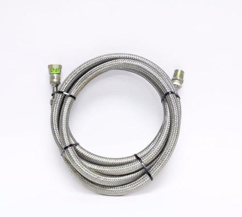 CTI Cryogenics Stainless Steel hose with 5400-S5-8 Fitting 10 Foot (2765T)