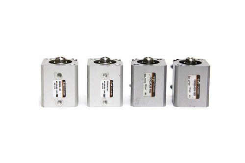SMC CDQ2A25-15D CQ2 Compact Cylinder 25mm Bore 14mm Stroke Lot of 4 New  (2949