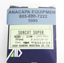 Asahi Diamond Wheel Suncut Super H253JN-T3 55.58Dx19.05Hx30Tx800L NEW LOT (5995)