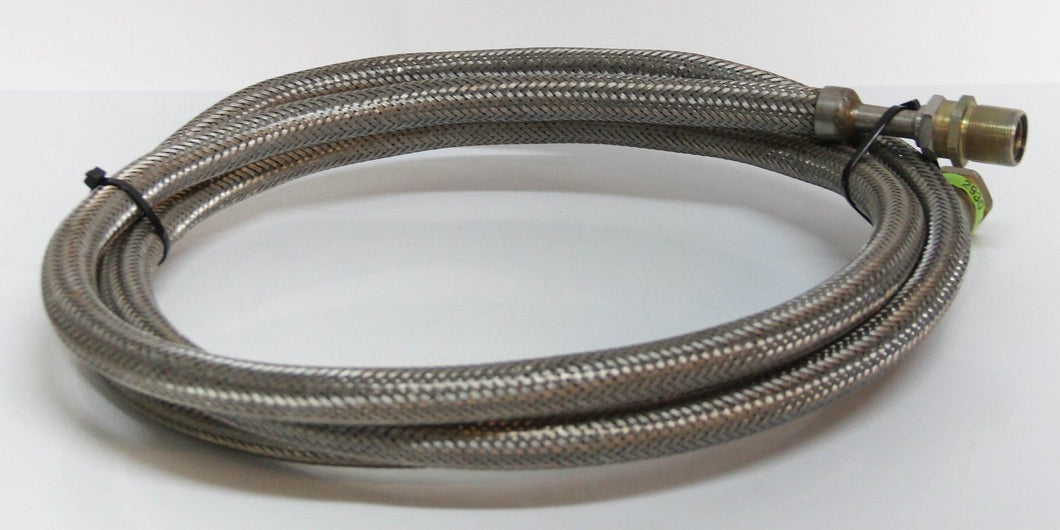 CTI-Cryogenics Stainless Steel Line, Hose Self Sealing Coupling 10 Foot (2930T)