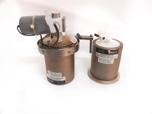 Cybor Filter System Housing 00511-01 Lot of 2 & Cybor 25823 Solenoid Valve (4406
