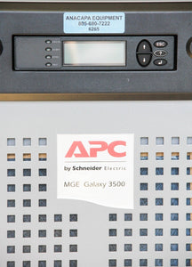 APC Schneider Electric MGE Galaxy 3500 Maintenance Bypass Cabinet 10-30kVA 6265
