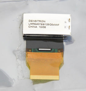 Densitron 1/16th DIN Negative Mode LCD Display LMR5407EB128G64WF LOT of 4 (5530)