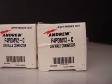 Andrew F4PDMV2-C Din Male Connector LOT of 4 NEW (3396)