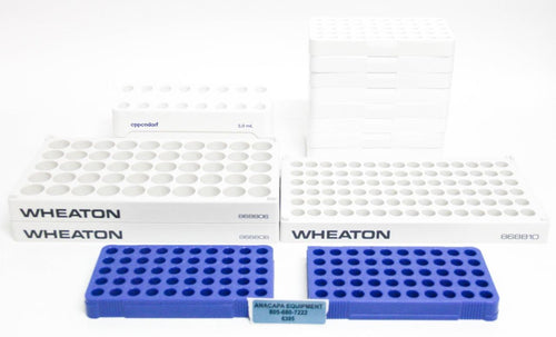 Nalgene Wheaton Eppendorf Lab Vial Racks LOT OF 15 (6395)