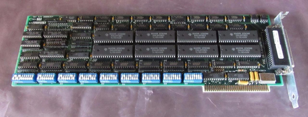 DBI A/N 30000354 REV. M Full Size ISA I/O Card / Board (3578)