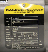 Baldor VL3503 Industrial Electric Motor 34H578X716 3450 RPM, NEW (2743)