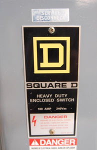 Square D H323N H362N D323N Heavy Duty Enclosed Switches Lot of 5 (4416)