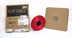 "3M™ Round Conductor Flat Cable 3754/68 Conductor .025""  MB68G-300-ND (4115)"