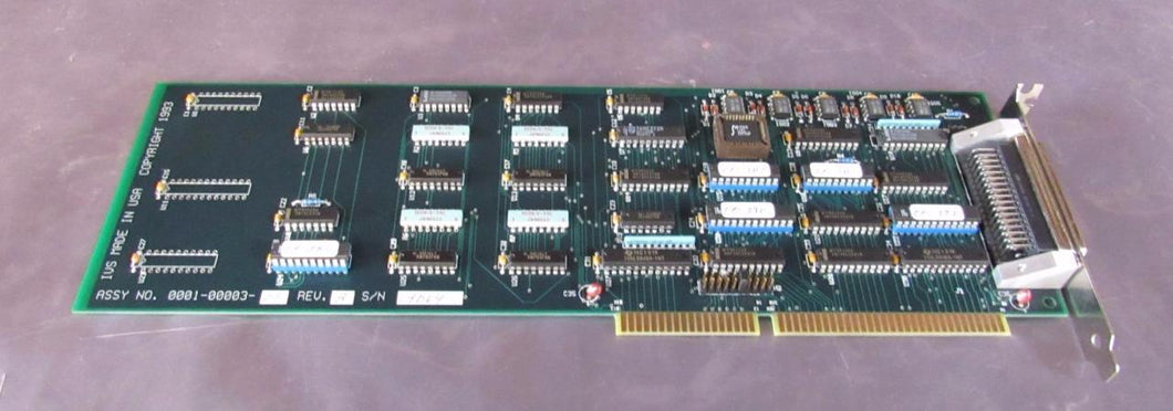 IVS 0001-00003-01 REV. B PC Card / Board from IVS 220 CD SEM PC (3579)