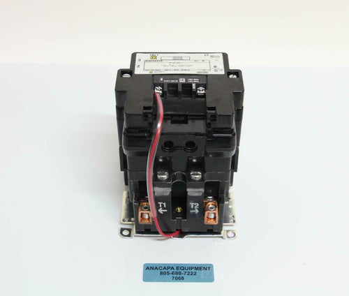 Square D 8502SE01S Contactor HP/kW Max 1 115V 60 Hz 7/12 HP/ 5.6 kW USED (7068)