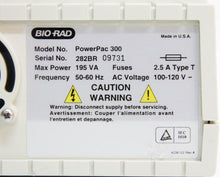 Bio-Rad Power Pac 300 Electrophoresis Power Supply 120V (4587)