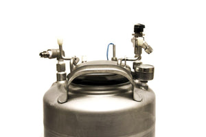 Apache Stainless Equipment Corp Pressure Vessel 4.5 Gallon T316L 165 PSI (4017)